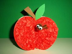 A is for APPLE craft kit by kazsmom on Etsy