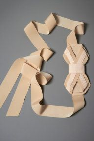 BHLDN bow sash