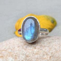 Labradorite Silver Ring Labradorite Ring #Statement Ring #labradorite #ring #gemstone #silverring #unique #oneofkind
