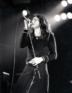 David Coverdale (with Deep Purple), Long Beach Arena, Nov. 1974