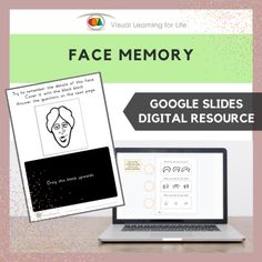 This digitally interactive resource is designed for use with Google Slides. This resource contains 10 slides in total. Answer sheets are included.The student must remember the details of the face on the first page, in order to answer the questions correctly on the second page.