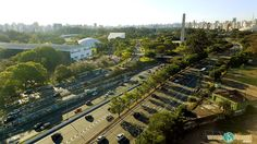 Vem Pra Sampa Meu! - Parque do Ibirapuera visto de cima
