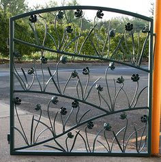 Welded Garden Art | The following pictures are of garden gates I admire and hope to ...