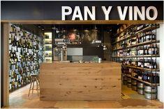 Tipo de Vitrine de loja - Pan Y Vino