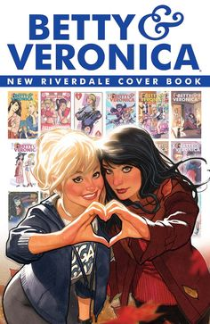 Betty & Veronica: New Riverdale Cover Book #1 - Cover by Adam Hughes
