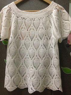 Trendy Crochet Top Pattern Plus Size Free Sewing Crochet Baby Poncho, Crochet Baby Sandals, Crochet Collar, Crochet Blouse, Wire Crochet, Crochet Top, Knitting Patterns Free, Crochet Patterns, Ladies Poncho