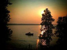 Christopher Lake evening