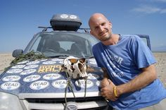 Mongol Rally, Day 31: Having a cow over our bad luck. A cow for luck. We thought the skull would bring us good luck. We were terribly wrong.