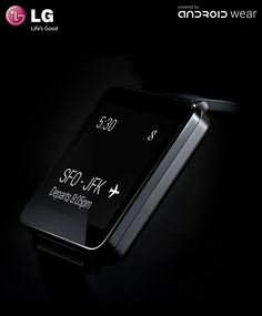 WANT! LG's new G-Watch... coming soon