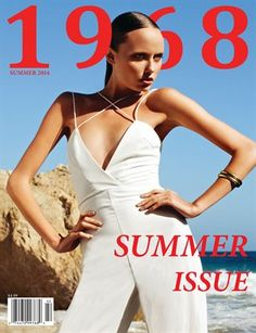 Get your digital subscription/issue of 1968 Magazine-Summer 2014 Magazine on Magzter and enjoy reading the magazine on iPad, iPhone, Android devices and the web. Summer 2014, Cover Design, Editorial Fashion, You Got This, Interview, Christian, Digital, People, Photography