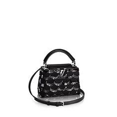 LOUIS VUITTON Capucines Mini Corolla. #louisvuitton #bags #shoulder bags #hand bags #