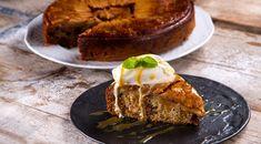 Ανάποδη μηλόπιτα με σοκολάτα από τον Άκη Πετρετζίκη | GlikesSintages.gr