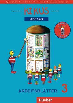 Hueber   KIKUS Deutsch / PDF-Download Arbeitsblätter 3. 8,99 € Kindergarten, German, Baseball Cards, Kids, Products, Index Cards, Learning, Books, Homework