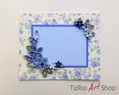 Greeting Cards and Quilling Ornaments от TipTopArtShop на Etsy