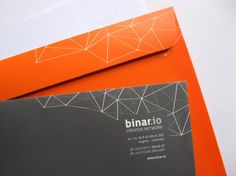 Discover more of the best Card, Binar, Io, Lovely, and Stationery inspiration on Designspiration Graphic Design Layouts, Graphic Design Branding, Corporate Design, Identity Design, Graphic Design Inspiration, Typography Design, Logo Design, Lettering, Corporate Identity
