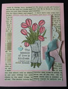 Mother's Day Tulips by ruby-heartedmom - Cards and Paper Crafts at Splitcoaststampers