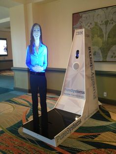 AVA - The PureSystems Avatar first revealed at #IBMInnovate 2013