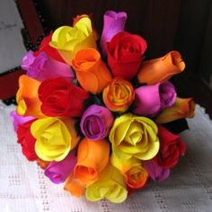 Half blooming yellow wooden roses definitely say that the sender is keen on friendship alone. Wooden Roses, Everlasting Love, Bouquet, Bloom, Bridal, Yellow, Create, Flowers, Wedding