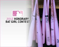 Atlanta Braves Honorary Bat Girl Contest - Tell them how you take a swing at Breast Cancer.