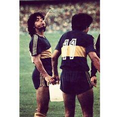 El Pelusa y Perotti...
