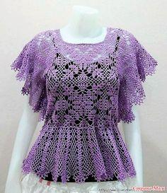 Fabulous Crochet a Little Black Crochet Dress Ideas. Georgeous Crochet a Little Black Crochet Dress Ideas. Crochet Jacket, Crochet Blouse, Knit Crochet, Crochet Bodycon Dresses, Black Crochet Dress, Crochet Tablecloth Pattern, Crochet Patterns, Knitting Patterns, Crochet Woman
