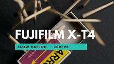 LIGHT-UP / FUJIFILM X-T4 Slow Motion 240fps & 120fps. Creative Studio, Fujifilm, Light Up