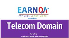 EarnQA Telecom Business Knowledge course designed to give telecom domain knowledge, telecom working project knowledge, telecom industry knowledge. Domain Knowledge, Personal Care, Train, Learning, Business, Self Care, Personal Hygiene, Studying, Teaching