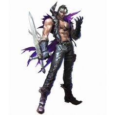 Soul Calibur Soul Calibur V New Characters Zwei ❤ liked on Polyvore