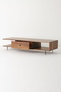 Anthro console table. Would make a good TV stand.