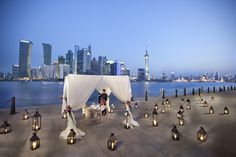 Did you know that Tops at Banyan Tree Shanghai is quickly becoming a popular destination for wedding proposals?