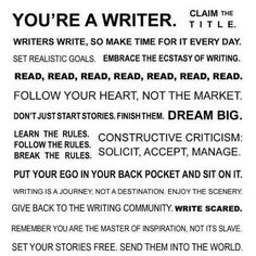 Set your stories free. Send them into the world.