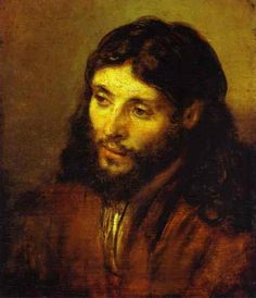"""I toured Rembrandt's """"Portraits of the Face of Jesus"""" at the Detroit Institute of Arts today.  This was my favorite.  The tenderhearted contemplative Jesus.  Rembrandt captured it so well!"""