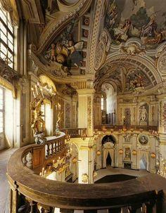 Stupinigi Palace in Turin, Italy