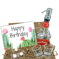 """Search: 10 results found for """"gift box"""" – Page 2 – Looking Sharp Cactus LLC Alcohol Gifts For Men, Gifts For Dad, Glass Dispenser, Soap Dispensers, Jack Daniels Decor, Whiskey Gifts, Cactus Gifts, Glass Spray Bottle, Bottle Garden"""