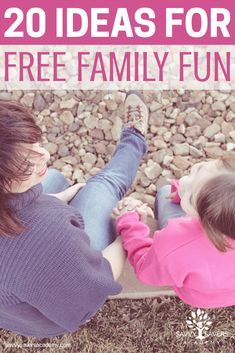 Save money on family fun. Get ideas for fun family activities that won't break the bank.