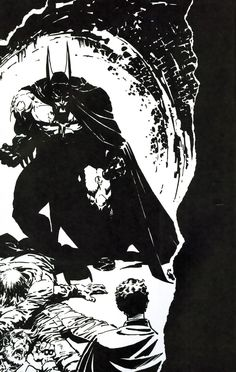 Batman by Berni Wrightson