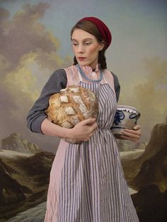 Chantal Michel, Das große Brot - Explorier Albert Anker Exhibition
