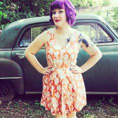 Anthropologie Leah Reena Goren Face Dress #Swapdom
