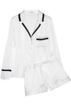 EQUIPMENT Jasper brushed-silk pajama set @netaporter.com