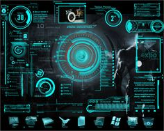 What do you call the style, trend or design commonly used by bodies mentioned in the title? I always see these designs in sci-fi movies and dashboards used by FBI or CIA. Game Interface, User Interface Design, Futuristic Technology, Futuristic Design, Reactor Arc, Cyberpunk, Science Fiction, Armadura Medieval, Stark Industries