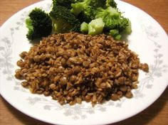http://www.food.com/recipe/brown-rice-and-lentil-casserole-74629 Brown Rice and Lentil Casserole
