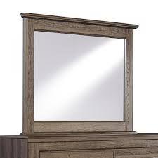 Rustic Bedroom Decor: Juararo Mirror by Ashley Furniture at Kensington Furniture.