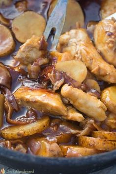 If you are looking for the best camping food recipe, look no further! This BBQ Dutch Oven Chicken and Potatoes recipe couldn't be easier or more delicious.