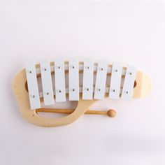 High quality Music teaching wooden xylophone original color orff instruments serinette Montessori Education Russia Brazil