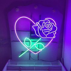 Image about aesthetic in Neon Colours by InvisibleXLukey Neon Light Signs, Neon Signs, Neon Colors, Colours, Neon Rosa, Images Esthétiques, Neon Glow, Purple Aesthetic, Aesthetic Grunge