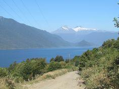 Zona del Lago Riñihue.