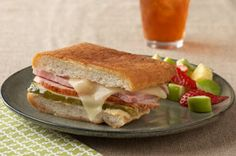 Cuban-Style Ham & Turkey Sandwiches
