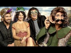 This is the best interview that will ever exist. I can't explain it; JUST WATCH! - The Hobbit: The Battle of the Five Armies vs Guido the Media Dwarf - Martin Freeman , Daniele Rizzo - YouTube