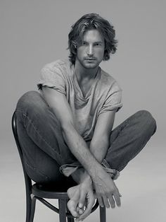 Gabriel Aubry -- wondering if I can grow my hair out to this...