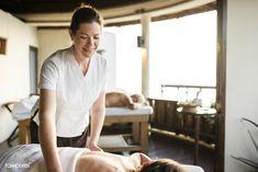 A senior having a massage | premium image by rawpixel.com